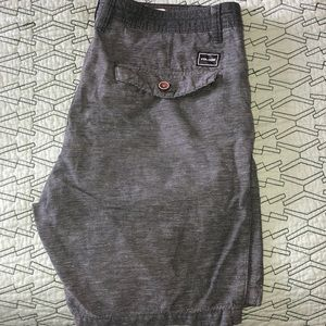 Men's Volvo's shorts.